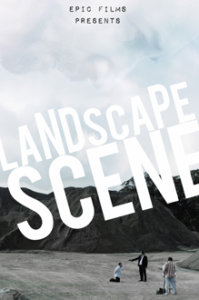 Landscape Web Poster PNG